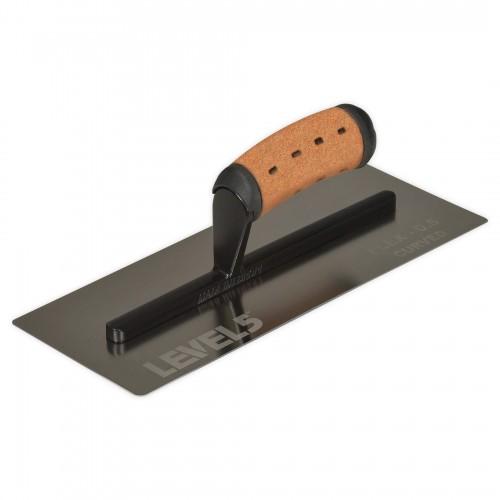 커브 플렉스 피니싱 트라울 0.5mm 날 12인치 14인치 FINISHING TROWEL 4-988, 4-989 양고대
